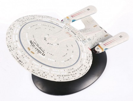 Star Trek series by Eagle Moss die-cast models USS Enterprise NCC-1701-D Item:  EM-ST0001 With stand