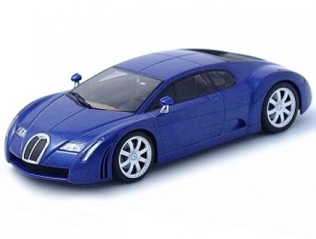 SALE! Bugatti EB 18.3 Chiron, Blue/Black AUTOart scale 1:43