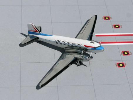 Lake Central DC-3 AJLKC023 Gemini Jets 1:250 scale