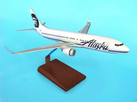 Alaska B737-800 W/Winglets by Executive Series G14110 Scale 1:100