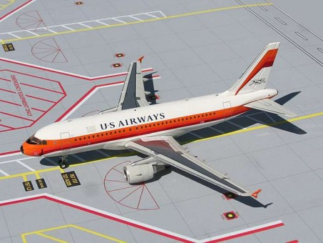 US Airways A319 Psa Heritage Livery