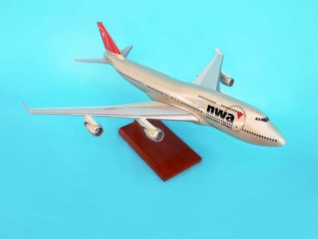 Northwest 747-400 New Livery G9410 Scale 1:100