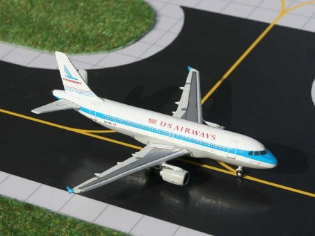 SALE! US Airways Airbus A319 Piedmont Tail N744P Gemini GJPDM682 scale 1:400