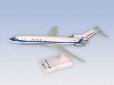 United B727-200 Delivery Colors