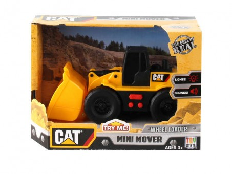 CAT Wheel Loader With Sound & Lights Mini Mover Ages 3+ CAT34614