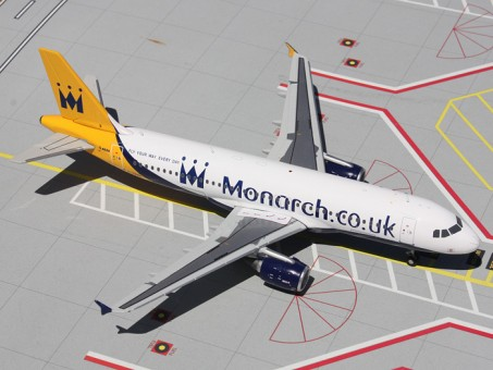 Monarch Airbus A320-200 G-OZBX  Scale:1:200