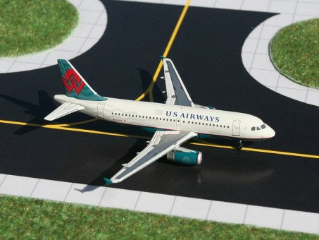 "US Airways Airbus A319 ""Amerca West Teal "" N838AW Gemini GJUSA904 scale 1:400"