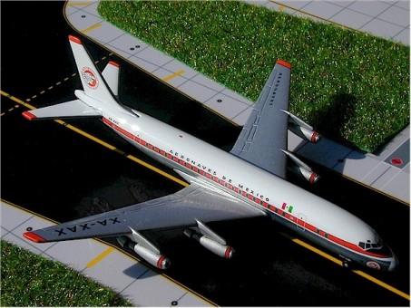 Aeronaves De Mexico Douglas DC-8-21 Reg#XA-XAX  DC-8-61 GeminiJets GJAMX156 Scale 1:400