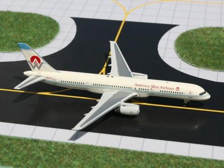 Rare Sale! America West Boeing 757-200 registration N907AW Gemini GJAWE930 Scale 1:400