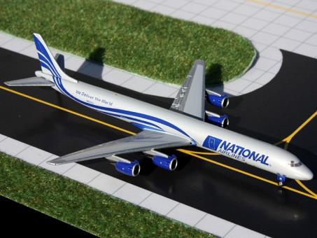Gemini Jets die-cast models National DC-8-71F  Reg# N872SJ  1:400 Scale Item: GJMUA1049 GJ1049