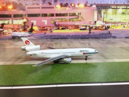 New! JapanAsia Airways DC-10-40 Registration JA8537 Aero Classics Scale 1:400
