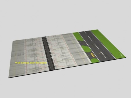 Eztoys Airport Mat - Section 2