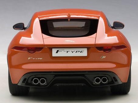 Orange Jaguar F-Type 2015 R Coupe Fire-sand Die-Cast AUTOart 73653 Scale 1:18