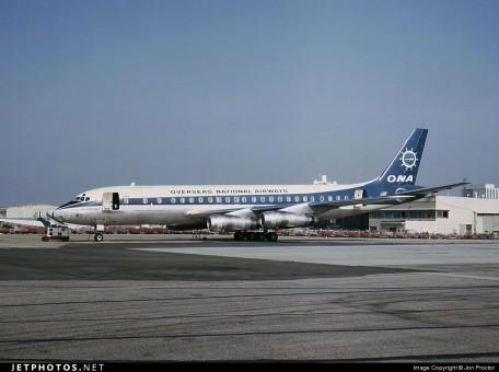 Overseas National Airways ONA Douglas DC-8-63 Reg# N868F  Aeroclassics Scale 1:400