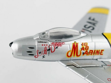 "F-86 Sabre ""Mig Mad Marine"" Postage Stamp PS5361-3 Scale 1:110"