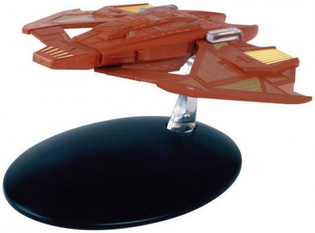 Vidiian Starship Star Trek Die-Cast by Eagle Moss EM-ST0103