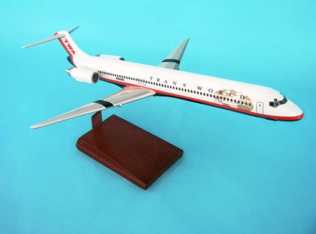 Twa MD-80 New Livery Executive Series G2010 Scale 1:100