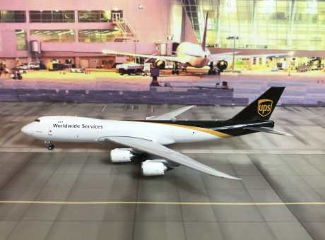 UPS Boeing 747-8F registration N605UP Phoenix 04166 Scale 1:400