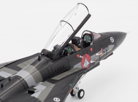 """F-14 US Air Force S Type """"Stealth"""" Die-Cast Calibre Wings CA72RB14 Scale 1:72"""