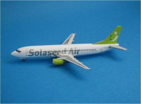 Solaseed Air 737-400 Reg# JA392K Japan Gemini Jets Scale 1:400