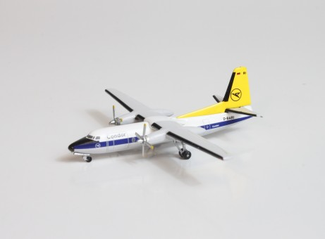 Lufthansa Fokker F-27 D-BARI Aero Classics AC19618 Scale 1:400