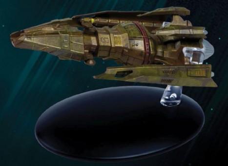 Hirogen Hunter Star Trek Universe EagleMoss Die-Cast EM-ST0051