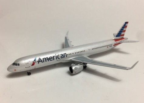 American Airlines Airbus A321neo N400N ACN400AN Aero Classics scale 1:400