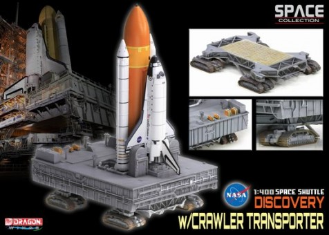"Space Shuttle ""Discovery"" w/Crawler Transporter (Space) 1/400"