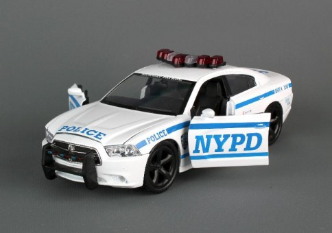 NYC Vehicles NYPD Dodge Charger NY71693 1:24