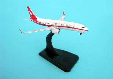 Aviation Models Shanghai 737-800 W/STAND