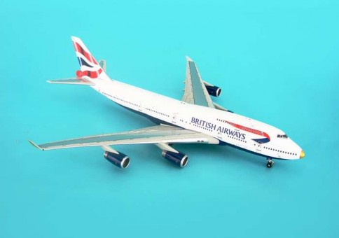 Aviation Models British Airways 747-400 Gold Nose