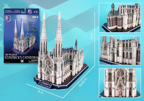 St PATRICK'S Cathedral 3D Puzzle 41 Pieces