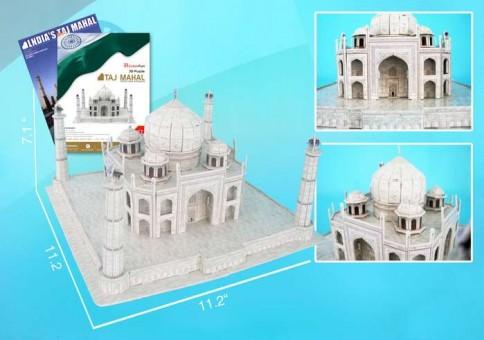 Taj Mahal 3D Puzzle With Book 87 Pieces