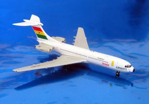 SALE! Ghana Airways VC-10 9G-ABO Gemini GJGHA689 scale 1:400