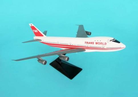Flight Miniatures TWA Boeing B747 LP1510M scale 1:250