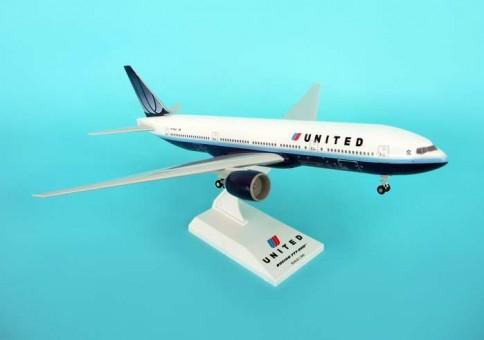 United B777-200 W/GEAR SKR034 Skymarks Small re-stock! 1:200