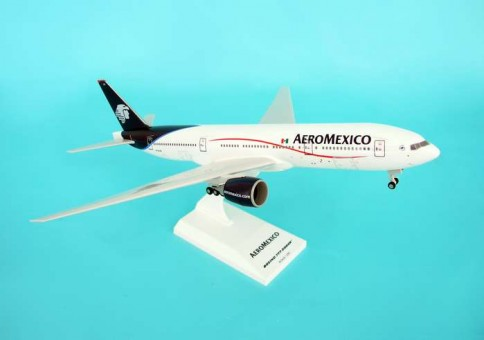 Aeromexico Boeing 777-200ER W/GEAR New Colors Skymarks SKR270 scale 1:200