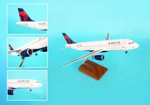 Delta 320 New Livery SKR8304 Scale 1:100