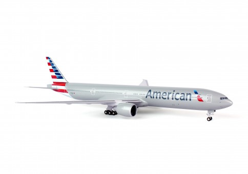 American New Livery Boeing 777-300 N718AN with gear Skymarks SKR715 scale 1:200