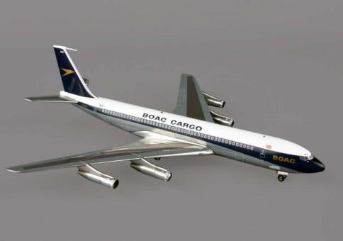 BOAC CARGO B707-300F G-ASZG (POLISHED)  1:200 Scale