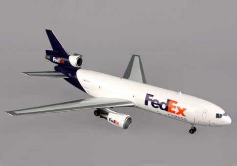 "Federal Express FedEx MD-10-30 N302FE ""1994s - Current""  1:200 Scale"