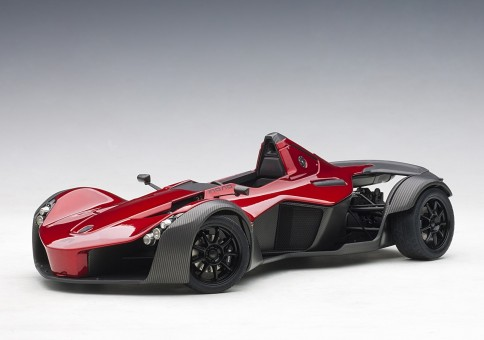 BAC Mono metallic Red Briggs Automotive 18119 AUTOart scale 1-18