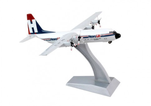 Pelita Air Service Heavylift L-100-30 Hercules (L-382B)  Reg# PK-PLV 1:200 Blue Box BBOX1301214