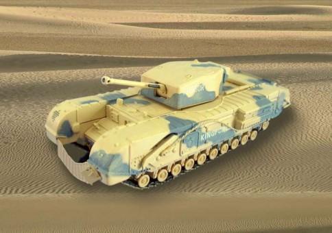 Churhhill MKIII Tank El Alamein Corgi CG60104 Scale 1:50