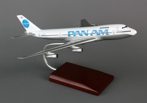 B747-200 Pan Am Executive Series Crafted Resin KB747patp G1620 Scale 1:200