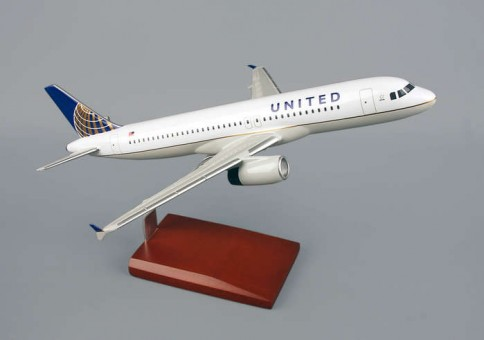 United A320 Post Continental Merger Livery