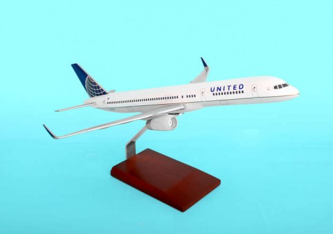 United 757-200 Post Continental Merger Livery NEW 1:100 Scale
