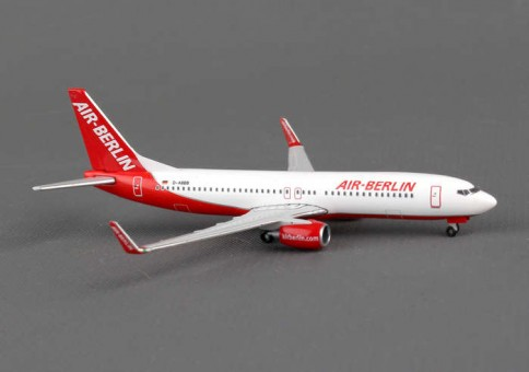 "Air Berlin Boeing 737-800w ""Limited Edition"" Herpa Wings HE527224 Scale 1:500"