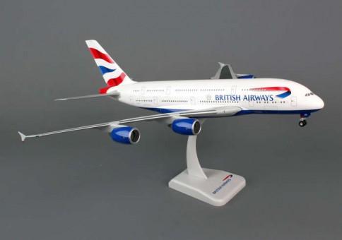British Airways Airbus A380 W/Gear  W/Gear Reg# HL7625 Hogan HG0168G 1:200