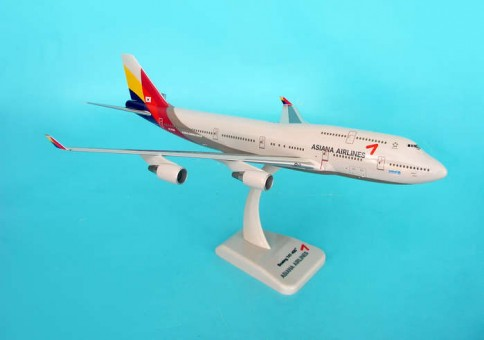 Asiana Boeing 747-400 with Gear HG3985G Hogan scale 1:200